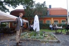 Anton Ruus håller håller invigningstalet