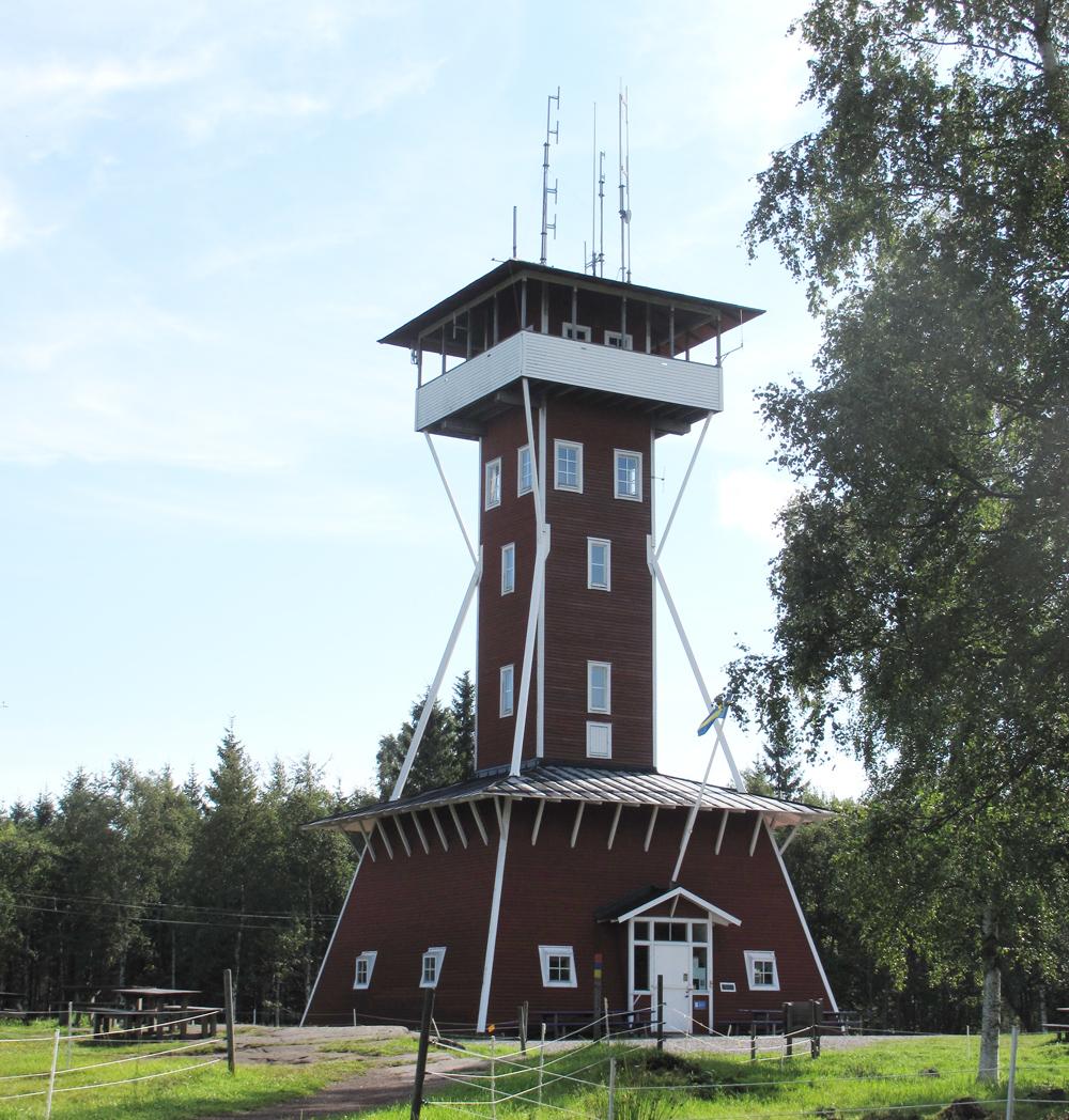Utsiktstornet på Kinnekulle