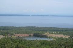 Utsikt mot Läckö slott
